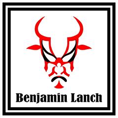 炭火焼肉ベンジャミンランチのロゴ